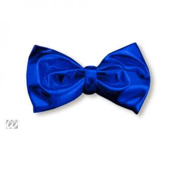 Blaue Fliege metallic