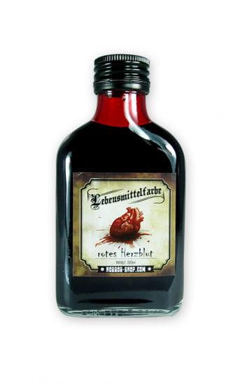 Flüssige Lebensmittelfarbe Herzblut