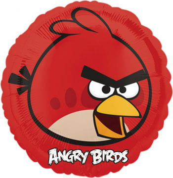 Folienballon Red Angry Birds