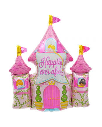 Prinzessinnenschloss Folienballon