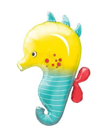 Foil balloon seahorses