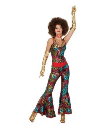 Foxy Lady Disco Kostüm Plus Size