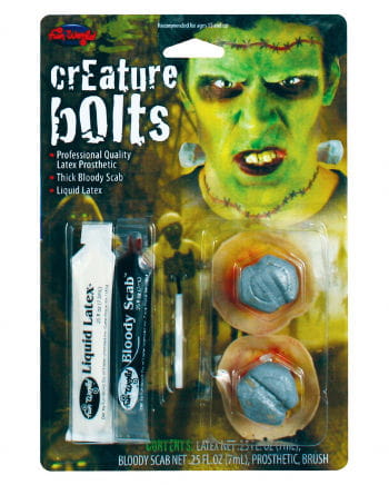 Frankenstein bolts Make Up Kit