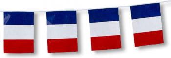 Fahnenkette Frankreich 5m