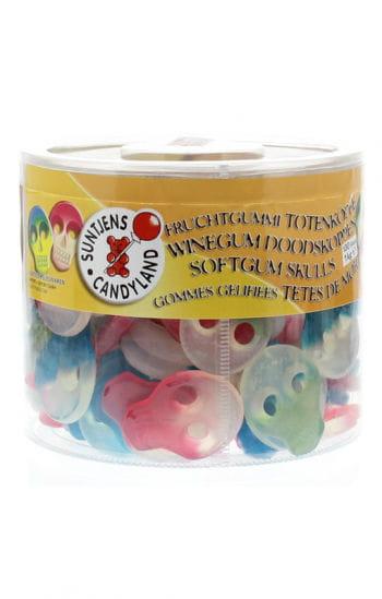 Fruchtgummi Totenschädel 100 Stück