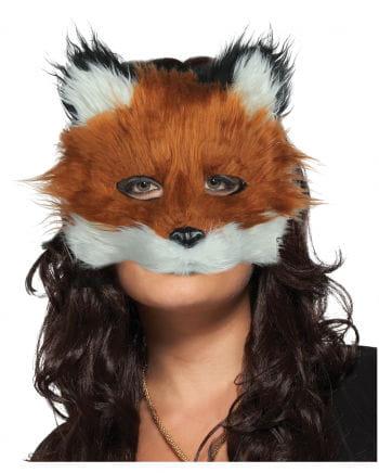 Fuchs Maske mit Kunstfell