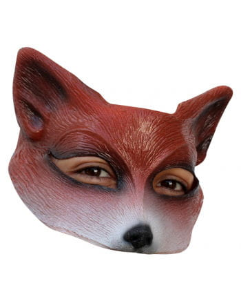 Fuchs half latex mask Brown
