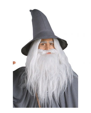 Gandalf wig with beard gray