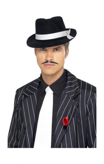 Mobster Krawatte weiß
