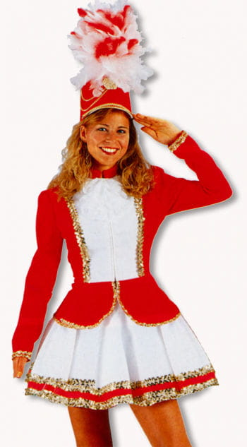 Guard costume red / white S / 36
