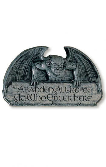 Gargoyle Door Sign