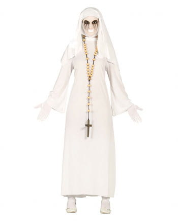 Ghost nun women's costume