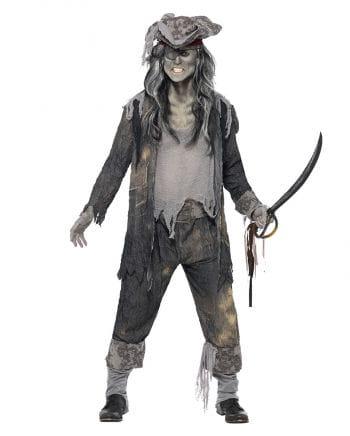 Ghost Pirate Costume XL