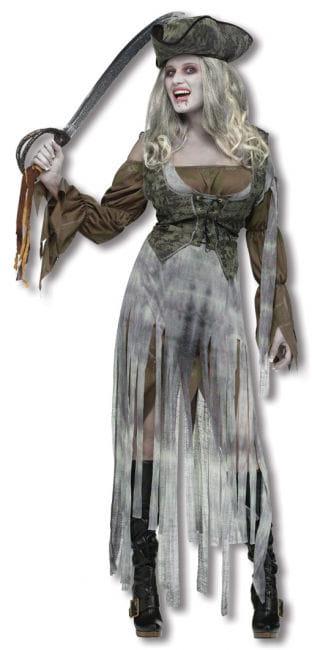Geister Piratin Kostüm S/M 38-40