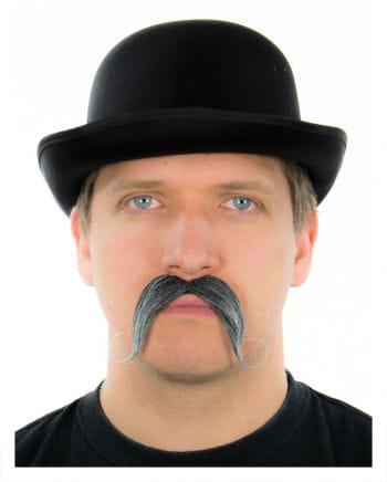 Ruffled tradable mustache black / white