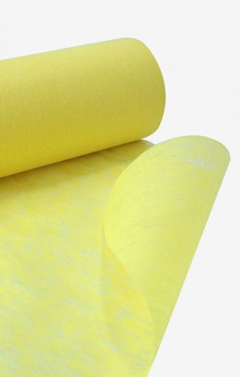 Deko Vliesstoff gelb schwer entflammbar