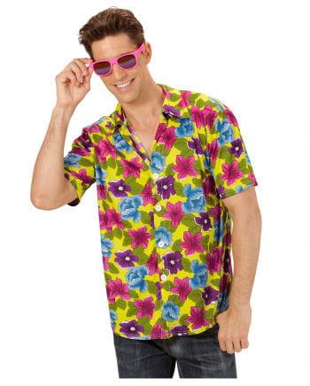 Hawaiian Shirt Yellow XL
