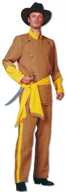 Südstaaten General Kostüm 3-teilig