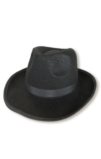 Gentleman hat black