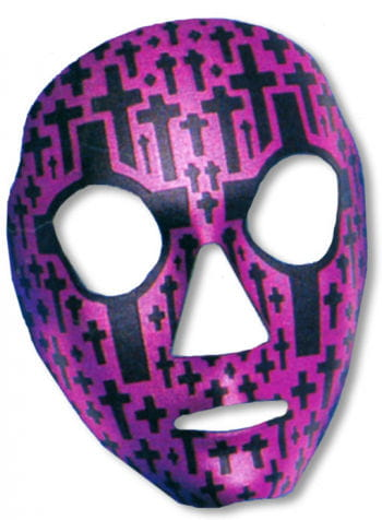 Face Mask Tombstone Purple