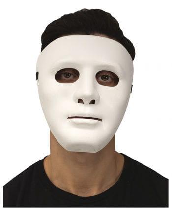 Weiße Gesichtsmaske