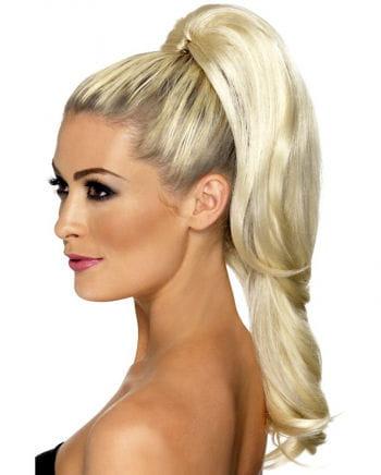 Wellige Haarverlängerung Blond