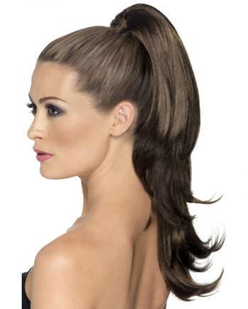 Wellige Haarverlängerung Braun