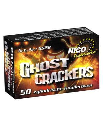 Ghost Crackers Knallerbsen 50er-Packung St.