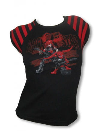 Girl Shirt mit Druck Rockstars