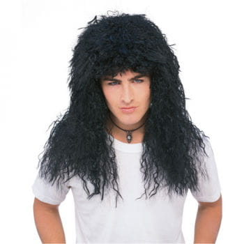 Glam Rock Wig Black