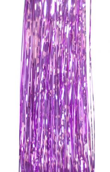 Foil Tinsel Lametta Lilac