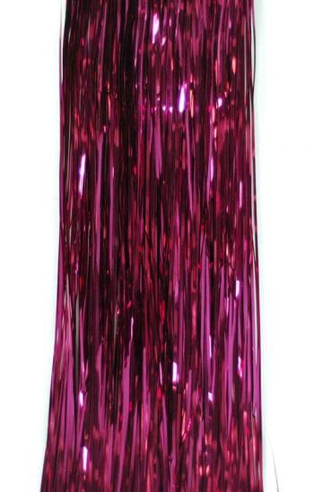 Weihnachtsbaum Lametta pink