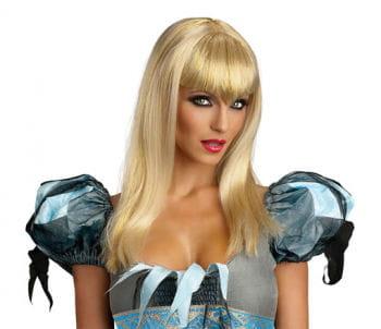 blonde Glitter Vampir Perücke
