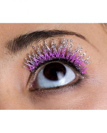 Glitter Eyelashes purple