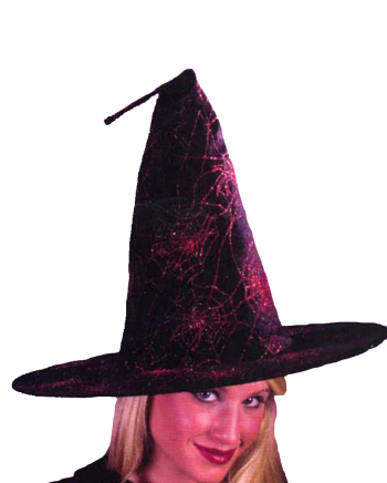 Glitter Witch Hat Red