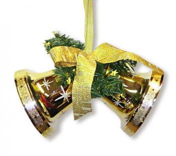 Glocken Hänger Gold