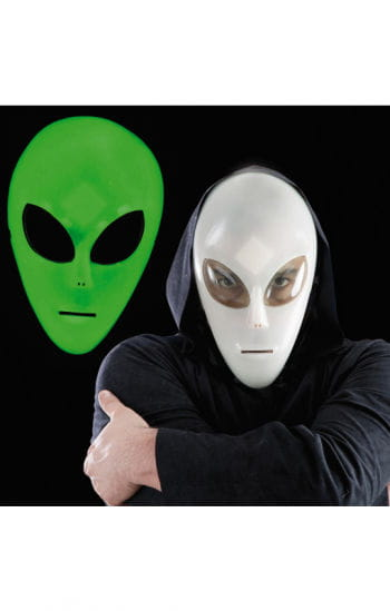 Leuchtende Alien Kinder-Maske