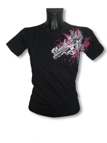 Flying Gun Girlie Shirt