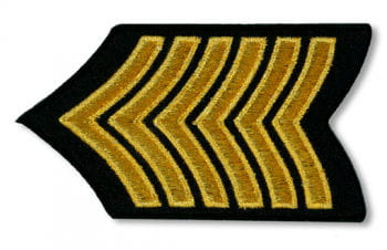 Gold Patch Army Style