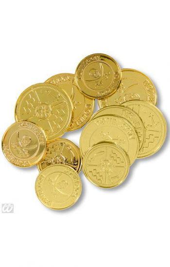 Goldene Spielzeug Münzen