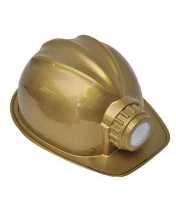 Minenarbeiter Helm als Kostümzubehör