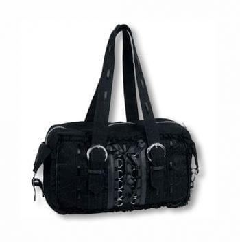 Gothic Handtasche mit Spitze