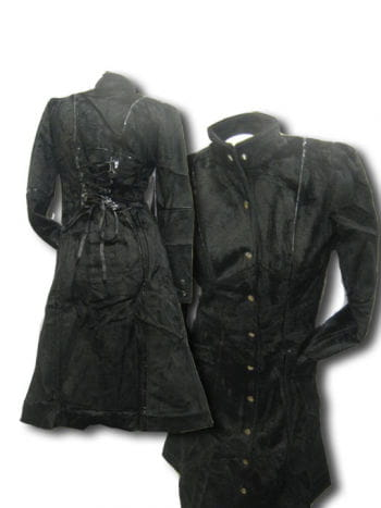 Gothic Faux Fur Coat Medium
