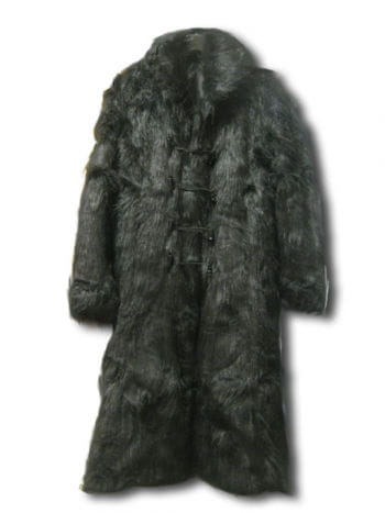 Gothic faux fur coat