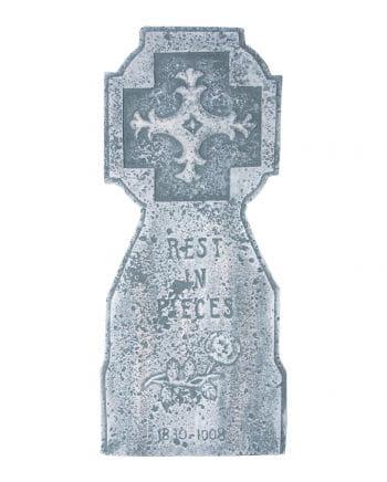 Gothic Grabstein mit Kreuz 60 cm