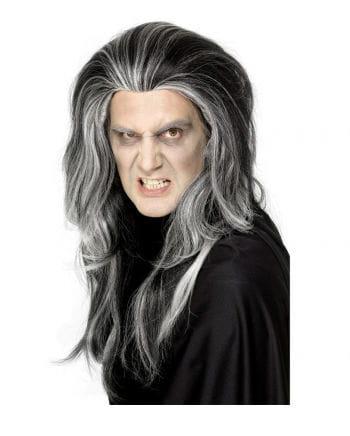 Vampir Perücke gesträhnt