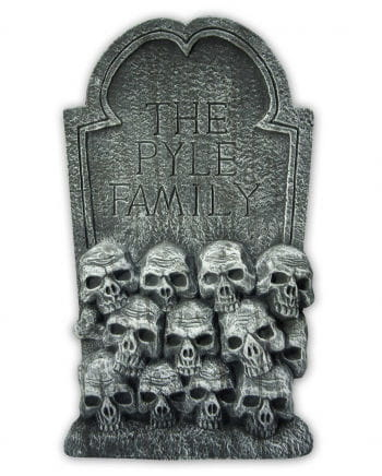 Totenkopf Friedhof Grabstein