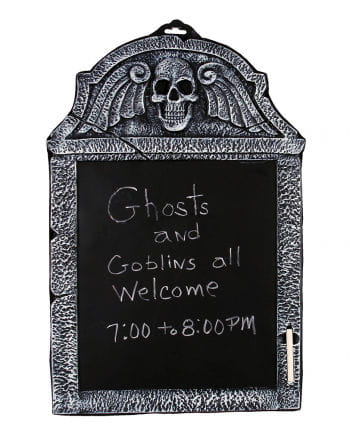Gravestone Writing Board With Chalk