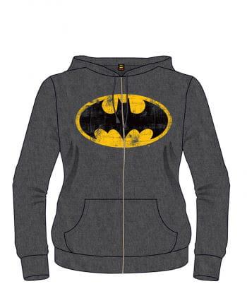 Batman Classic Logo Hoodie gray