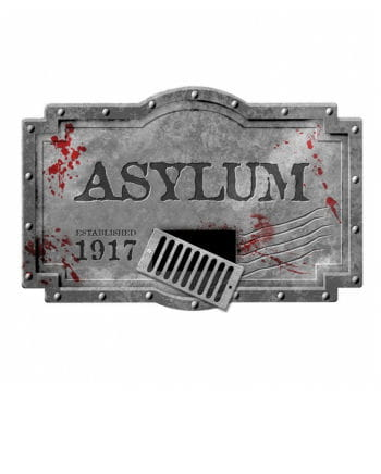 Large Asylum Decoration shield